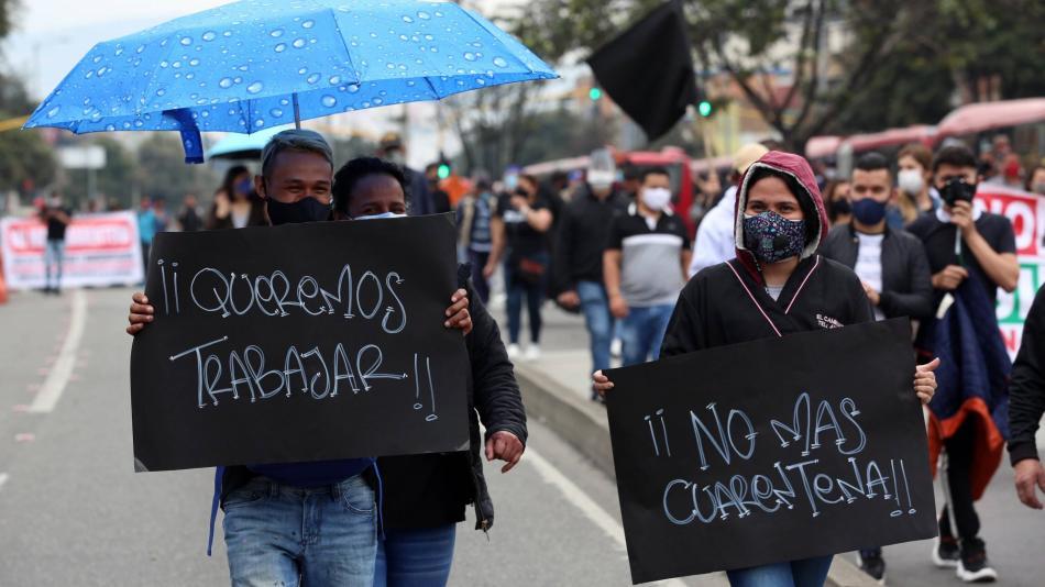 Desempleo en Colombia en noviembre de 2020 fue de 13,3 % según cifras del Dane - Sectores - Economía - ELTIEMPO.COM