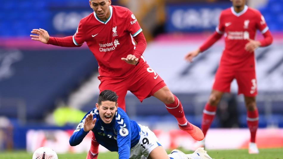 ¡Vibrante partido! Everton empató 2-2 con Liverpool