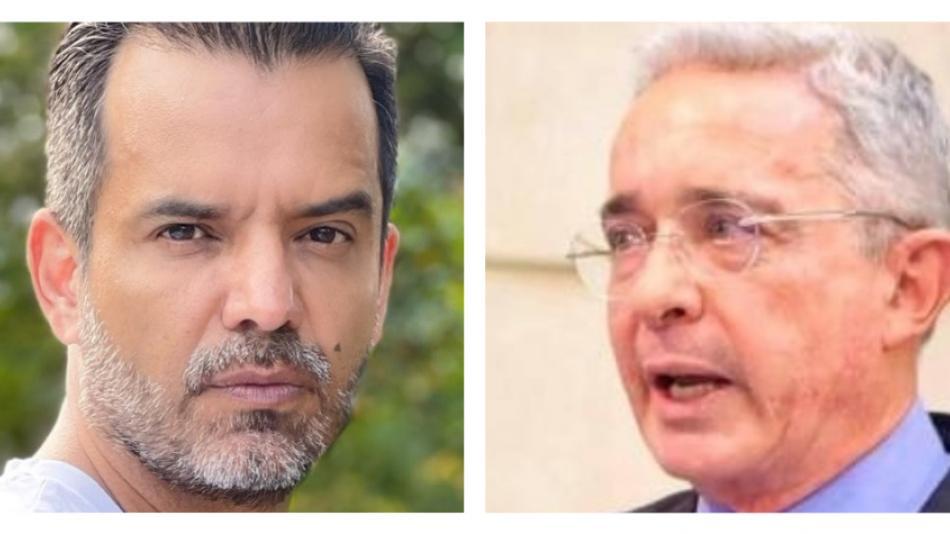 Jorge Cárdenas y Álvaro Uribe