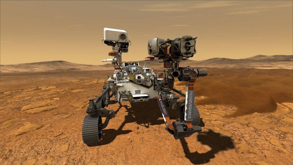Las primeras imágenes del Perseverance en Marte - Ciencia - Vida - ELTIEMPO.COM