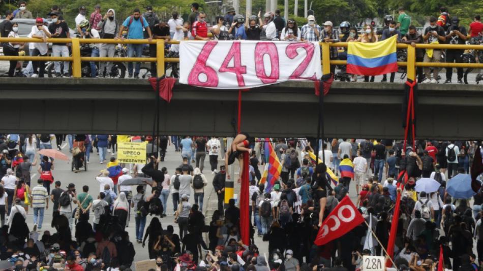 Paro Nacional 28 de abril   Video de aglomeraciones en las protestas -  Otras Ciudades - Colombia - ELTIEMPO.COM