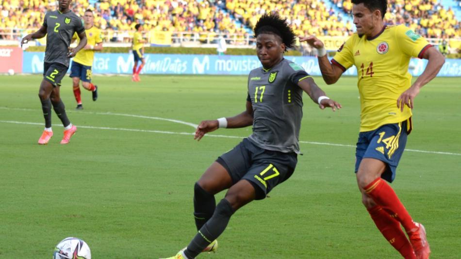 Colombia no pudo con Ecuador y se enredó en la eliminatoria
