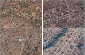 Así se ven desde el aire las capitales de países más pobres del mundo
