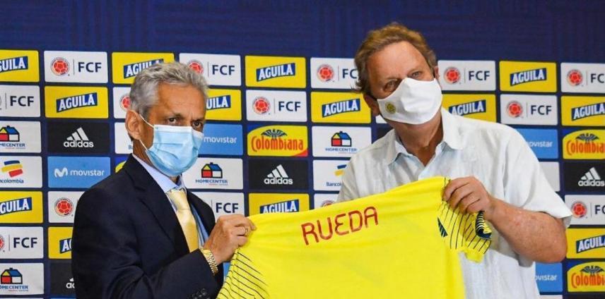 Reinaldo Rueda presentado… a trabajar