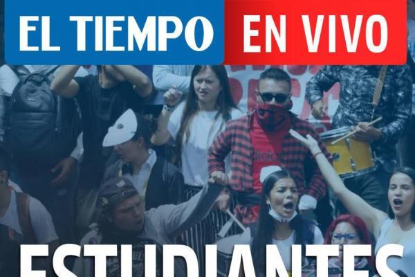 En vivo: todo sobre la marcha de estudiantes en Halloween