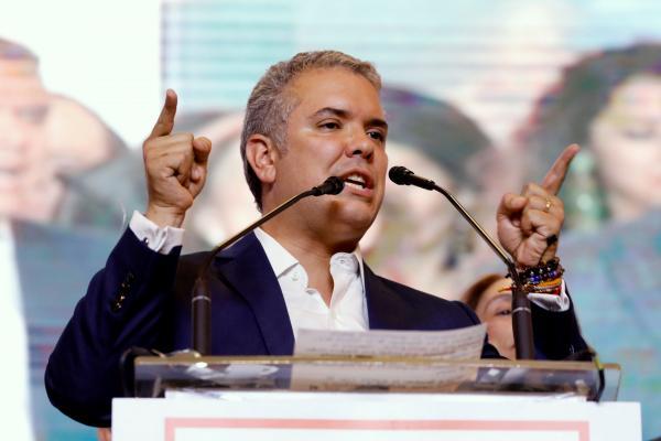 Iván Duque, presidente electo de Colombia