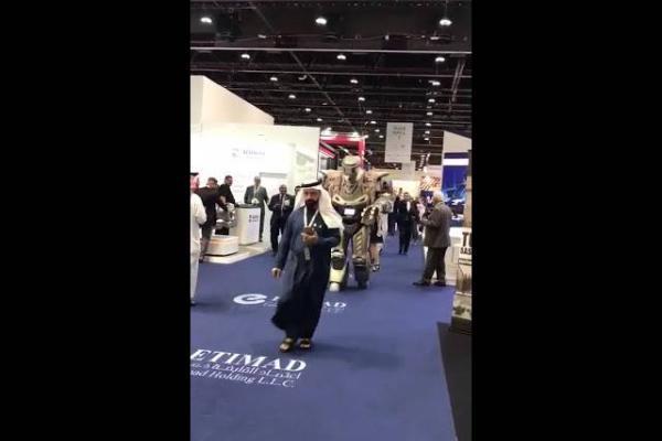 Robot en Dubai