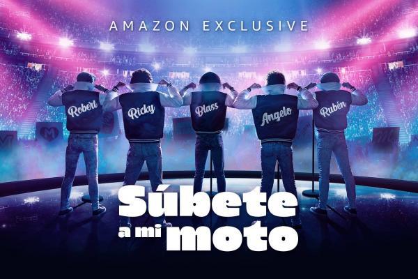Súbete a mi moto - Amazon