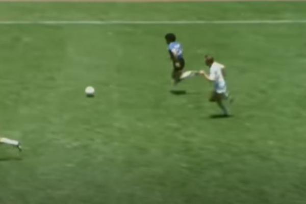 Gol de Maradona a Inglaterra