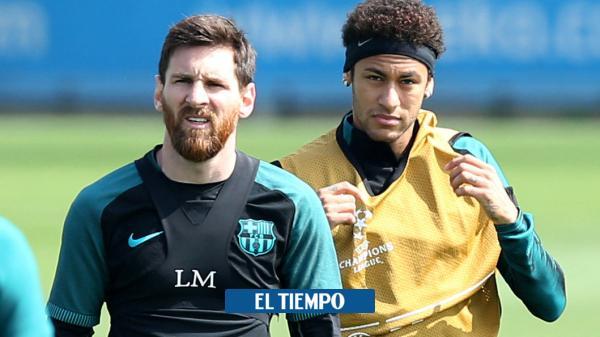 Enorme confesión le hizo Messi a Neymar sobre su futuro en ...