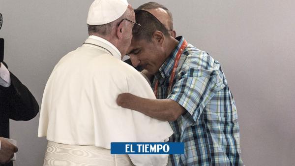 'Rompamos la cadena de violencia con perdón y reconciliación': Papa