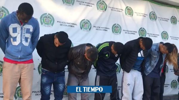 Cayeron 'Los Llaveros', atracadores del centro de Bogotá