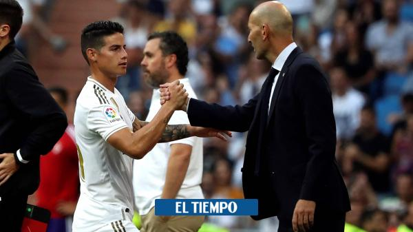 Buenas noticias para James Rodríguez en el regreso de la Liga