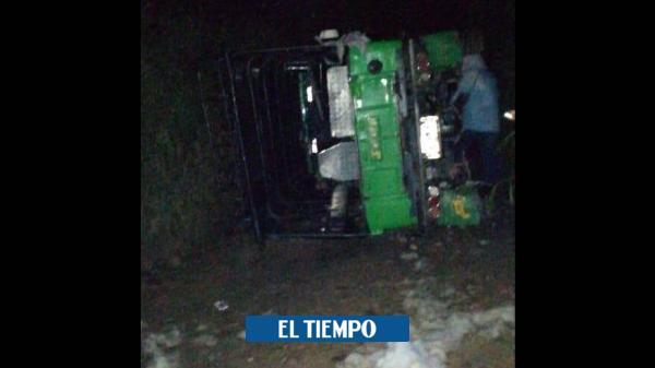Accidente de tránsito en El Peñol dejó una persona fallecida - El Tiempo