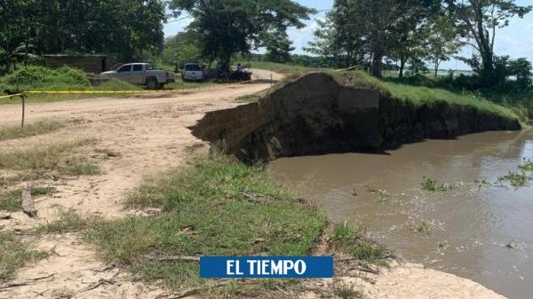 Alerta de posible desastre natural por erosión en río Magdalena - El Tiempo