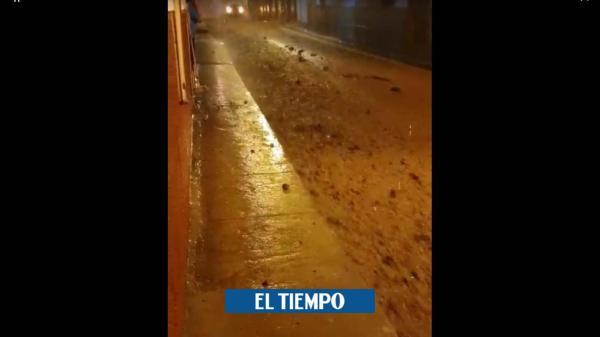 Nuevo aguacero en Jericó, Antioquia, causa temor entre los habitantes - El Tiempo