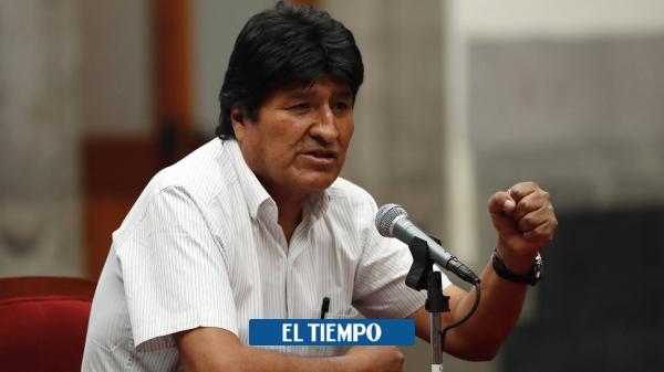 'Mi plan es volver a Bolivia, terminar mi periodo y elecciones' - El Tiempo