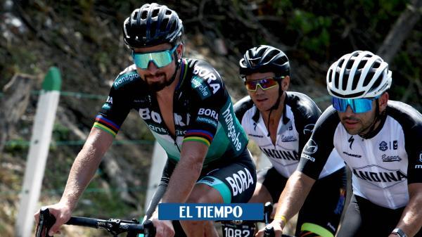 Peter Sagan se gozó su carrera en Barranquilla - El Tiempo