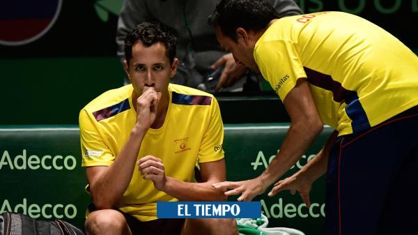 Galán perdió y Colombia quedó eliminado de las finales de la Davis - El Tiempo
