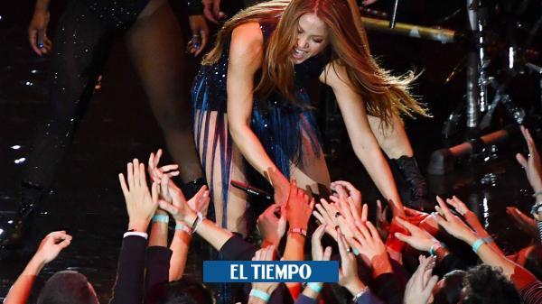 ¡Impresionante! Shakira, una locura en la final de la Copa Davis