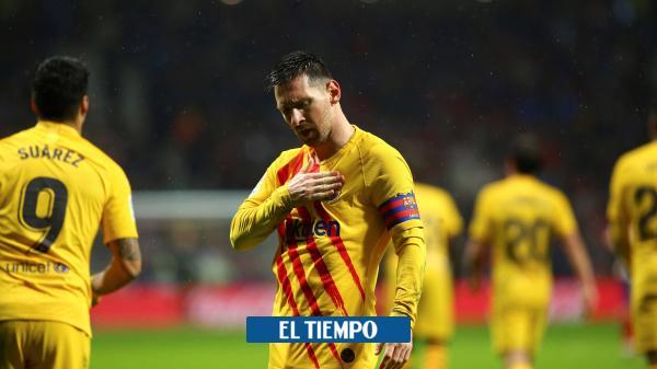 Messi alargó la maldición del Atlético de Madrid con el Barcelona