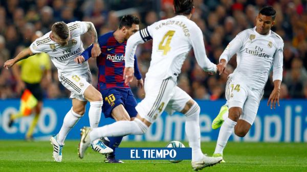El clásico está que arde: prográmese con el Real Madrid vs ...