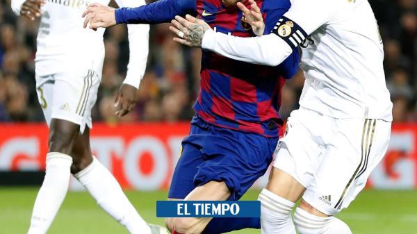 EN VIVO: siga el minuto a minuto del Real Madrid vs. Barcelona