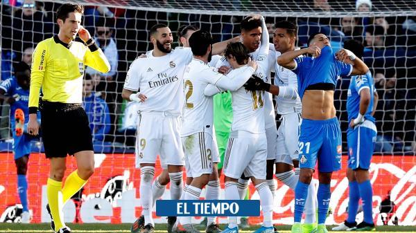 Real Madrid, sin James, sufre y al final golea