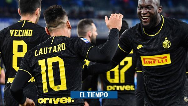 Inter derrota a Nápoles y sigue cabeza a cabeza con Juventus