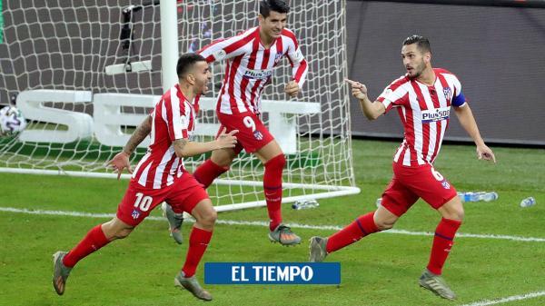 Con polémica, goles y emoción, Atlético elimina al Barcelona