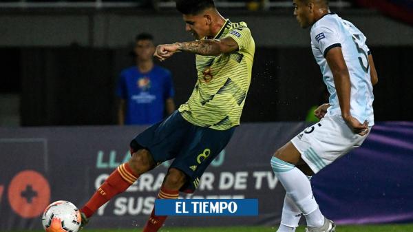Debut amargo: Colombia cayó con Argentina en el Preolímpico