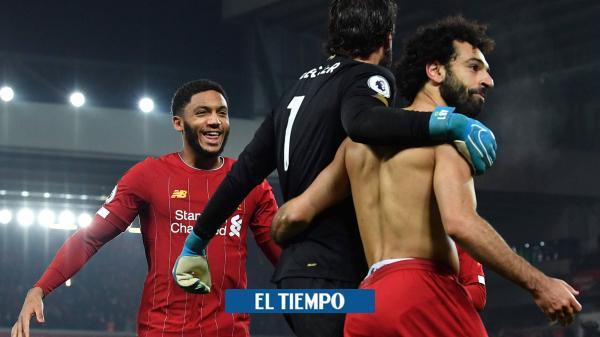 Triunfazo del Liverpool, que ve el título de la Premier más cerca