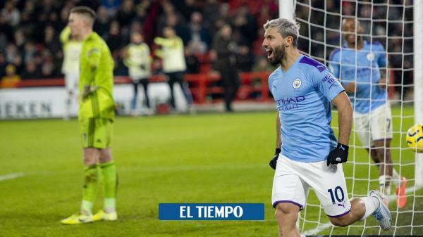 Agüero salva al Manchester City