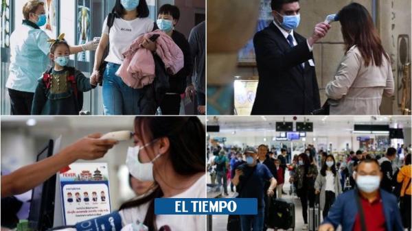 Las imágenes de Asia bajo alerta por el coronavirus