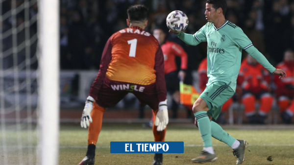 Real Madrid vs. Real Sociedad: el reto de James en la Copa del Rey