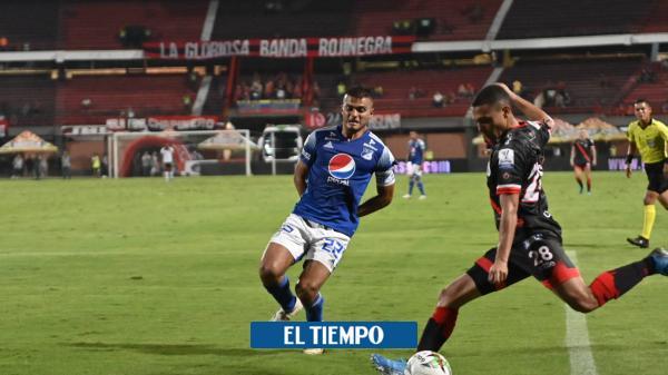 Una falla y a Millonarios se le escapó la victoria en Cúcuta