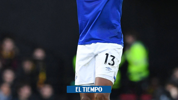 ¡Báilelo, Yerry! Mina anotó doblete en tres minutos con Everton