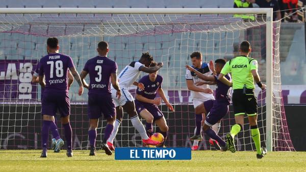 Video: Duván Zapata anotó en el triunfo del Atalanta