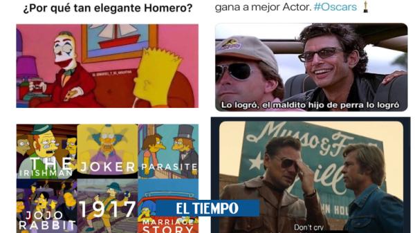 Los graciosos memes de los Óscar 2020