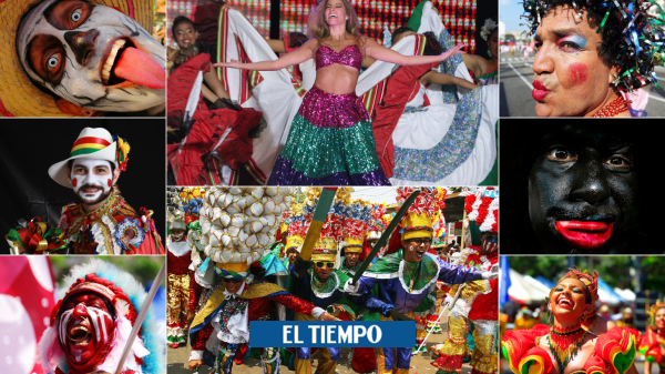 Personajes que hacen del Carnaval la gran fiesta de Colombia