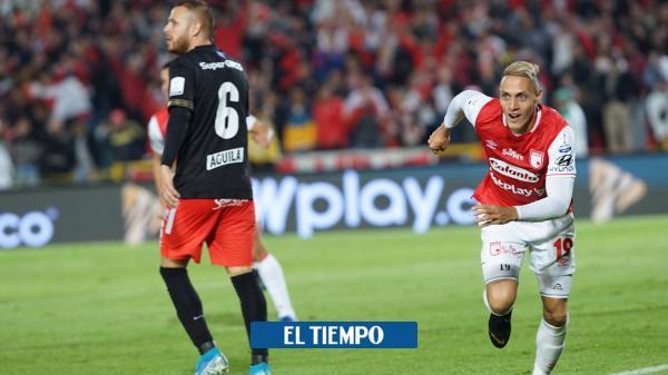 Valdés clavó sus colmillos de león y Santa Fe le ganó 2-0 al América
