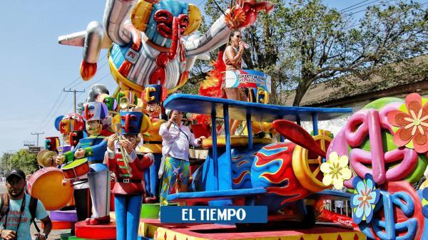 Barranquilla ya se goza su carnaval, la gran fiesta del país