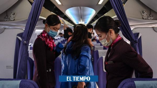 Las restricciones en terminales aéreas del mundo por el coronavirus