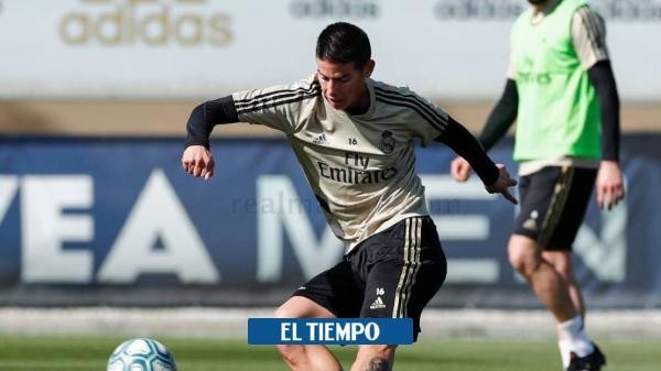 Análisis de James Rodríguez sobre el clásico Real Madrid vs ...