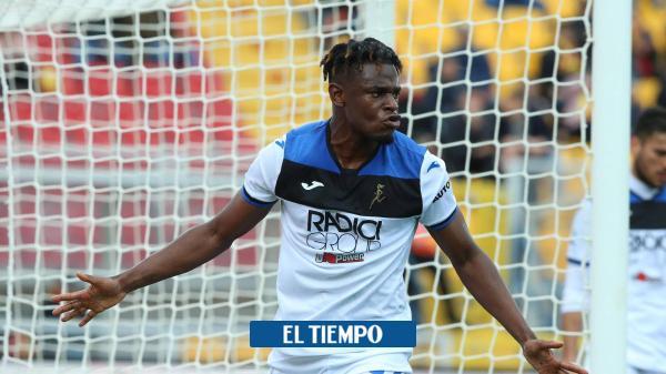No se pierda el nuevo gol de Duván Zapata con el Atalanta