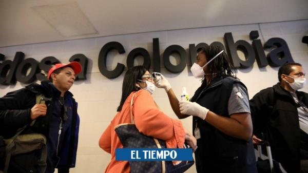 La historia detrás del aterrizaje del coronavirus en Colombia