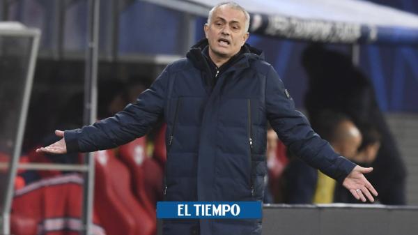 Otro duro golpe a José Mourinho: goleado y eliminado en la ...