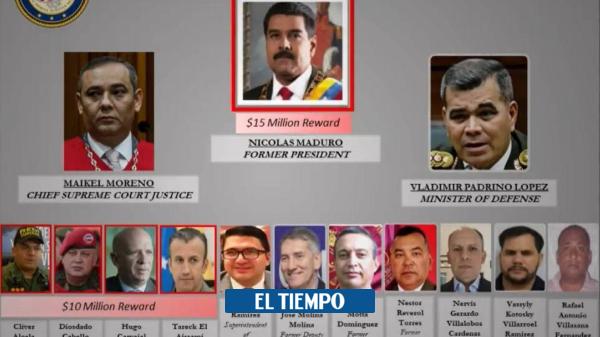 Las claves de la acusación de EE.UU. contra Maduro por ...