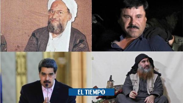 Maduro y las recompensas más altas que ha ofrecido Estados Unidos