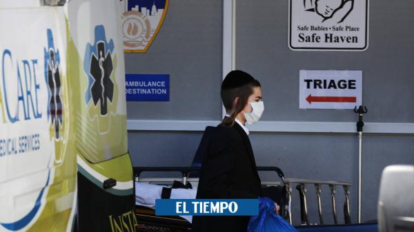 Cerca de 2.000 muertos por coronavirus en EE. UU. en 24 horas